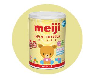 Dự án phân phối sản phẩm dinh dưỡng meiji