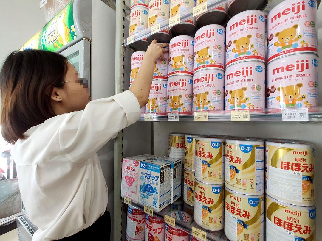 Cục An toàn thực phẩm: Các sản phẩm sữa Hồng Kông khuyến cáo đều an toàn